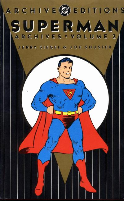 Cover for Superman Archives (DC, 1989 series) #2