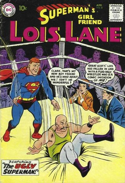 Cover for Superman's Girl Friend, Lois Lane (DC, 1958 series) #8