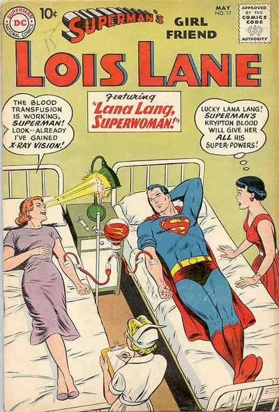 Cover for Superman's Girl Friend, Lois Lane (DC, 1958 series) #17