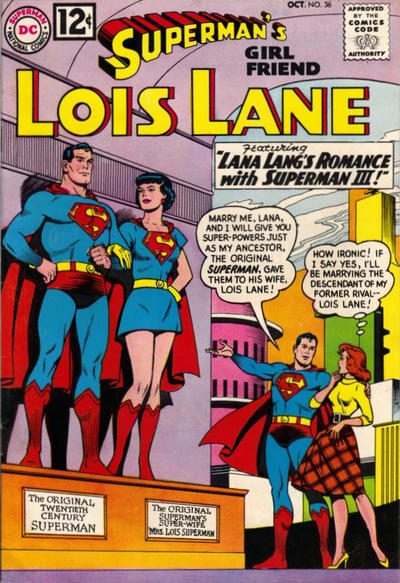 Cover for Superman's Girl Friend, Lois Lane (DC, 1958 series) #36