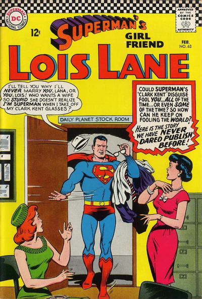 Cover for Superman's Girl Friend, Lois Lane (DC, 1958 series) #63