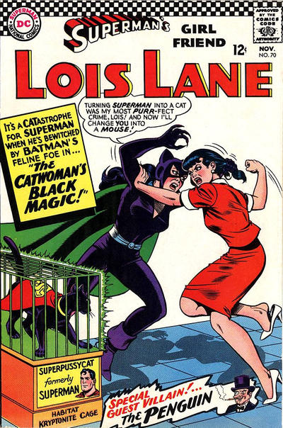 Cover for Superman's Girl Friend, Lois Lane (DC, 1958 series) #70