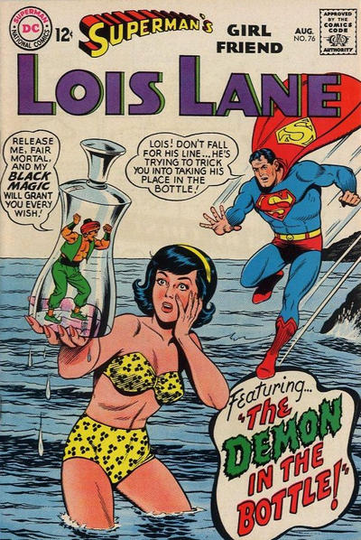Cover for Superman's Girl Friend, Lois Lane (DC, 1958 series) #76