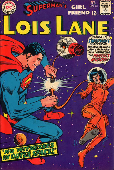 Cover for Superman's Girl Friend, Lois Lane (DC, 1958 series) #81