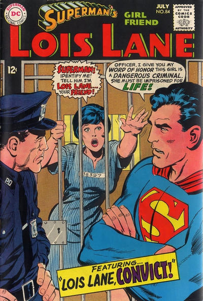 Cover for Superman's Girl Friend, Lois Lane (DC, 1958 series) #84