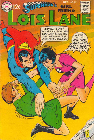 Cover for Superman's Girl Friend, Lois Lane (DC, 1958 series) #87