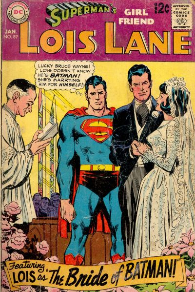 Cover for Superman's Girl Friend, Lois Lane (DC, 1958 series) #89