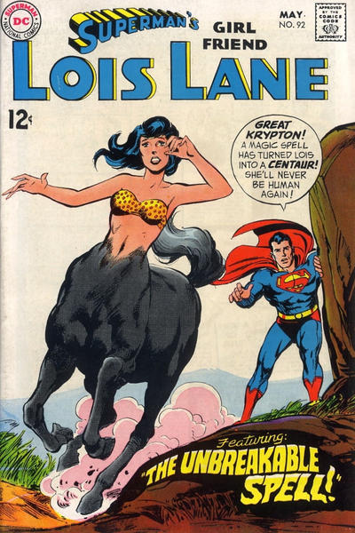 Cover for Superman's Girl Friend, Lois Lane (DC, 1958 series) #92