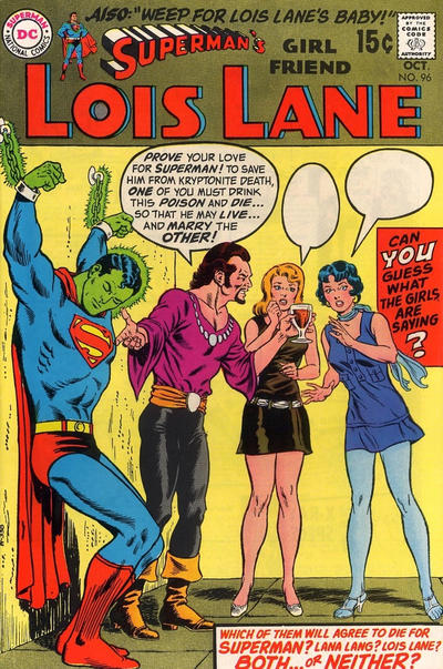 Cover for Superman's Girl Friend, Lois Lane (DC, 1958 series) #96