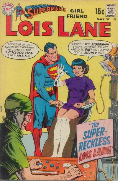 Cover for Superman's Girl Friend, Lois Lane (DC, 1958 series) #101
