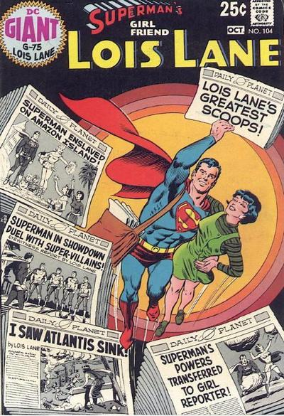 Cover for Superman's Girl Friend, Lois Lane (DC, 1958 series) #104