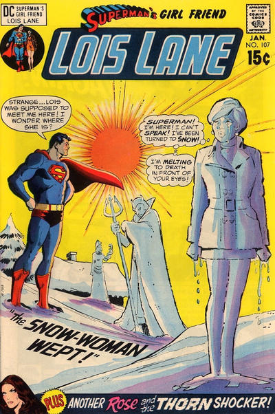 Cover for Superman's Girl Friend, Lois Lane (DC, 1958 series) #107