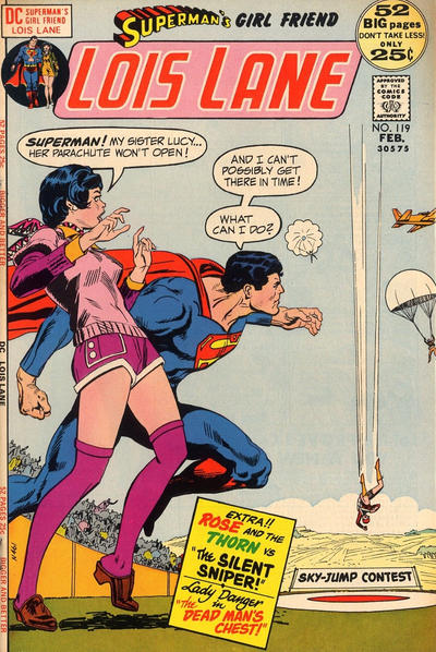Cover for Superman's Girl Friend, Lois Lane (DC, 1958 series) #119