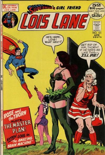 Cover for Superman's Girl Friend, Lois Lane (DC, 1958 series) #121