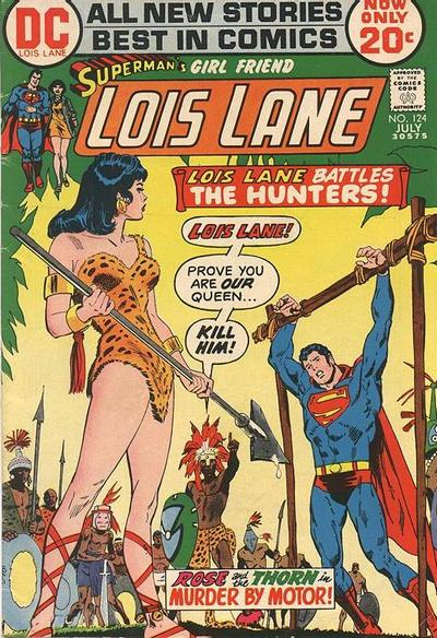 Cover for Superman's Girl Friend, Lois Lane (DC, 1958 series) #124