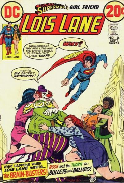 Cover for Superman's Girl Friend, Lois Lane (DC, 1958 series) #126