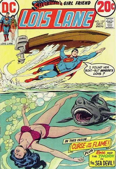 Cover for Superman's Girl Friend, Lois Lane (DC, 1958 series) #127