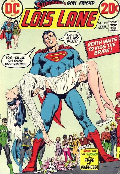 Cover for Superman's Girl Friend, Lois Lane (DC, 1958 series) #128