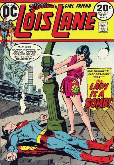 Cover for Superman's Girl Friend, Lois Lane (DC, 1958 series) #133