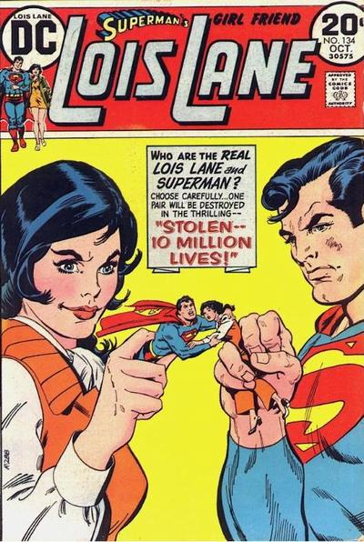 Cover for Superman's Girl Friend, Lois Lane (DC, 1958 series) #134
