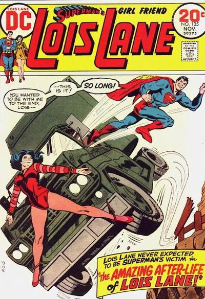 Cover for Superman's Girl Friend, Lois Lane (DC, 1958 series) #135