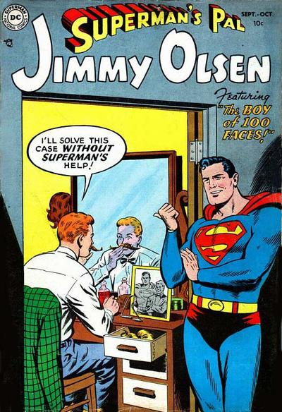 Cover for Superman's Pal, Jimmy Olsen (DC, 1954 series) #1