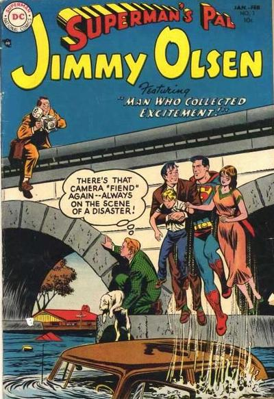 Cover for Superman's Pal, Jimmy Olsen (DC, 1954 series) #3
