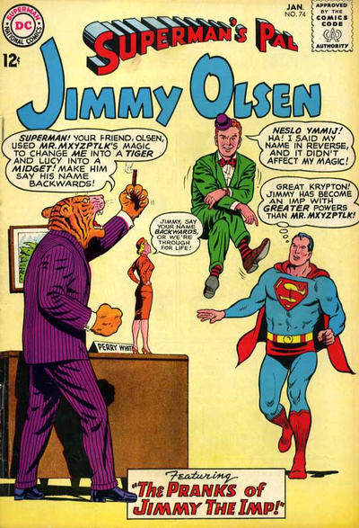 Cover for Superman's Pal, Jimmy Olsen (DC, 1954 series) #74
