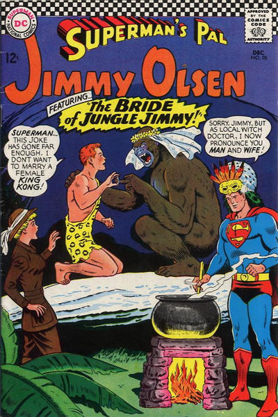 Cover for Superman's Pal, Jimmy Olsen (DC, 1954 series) #98