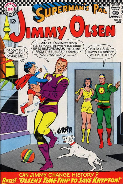 Cover for Superman's Pal, Jimmy Olsen (DC, 1954 series) #101