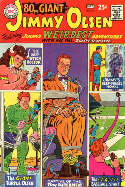 Cover for Superman's Pal, Jimmy Olsen (DC, 1954 series) #104