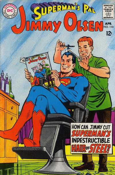 Cover for Superman's Pal, Jimmy Olsen (DC, 1954 series) #110