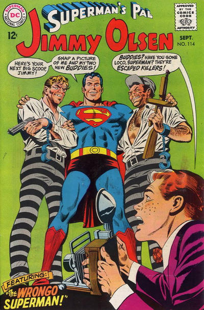 Cover for Superman's Pal, Jimmy Olsen (DC, 1954 series) #114