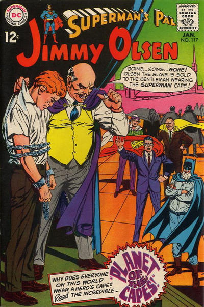 Cover for Superman's Pal, Jimmy Olsen (DC, 1954 series) #117