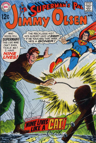 Cover for Superman's Pal, Jimmy Olsen (DC, 1954 series) #119