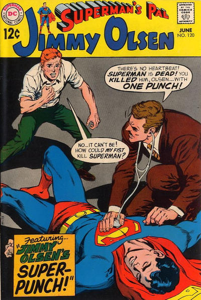 Cover for Superman's Pal, Jimmy Olsen (DC, 1954 series) #120