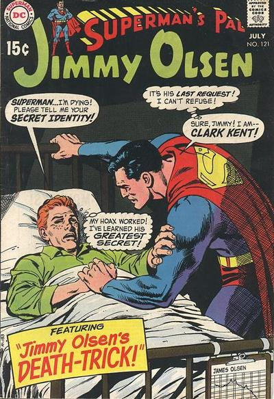 Cover for Superman's Pal, Jimmy Olsen (DC, 1954 series) #121