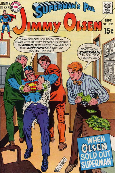 Cover for Superman's Pal, Jimmy Olsen (DC, 1954 series) #132