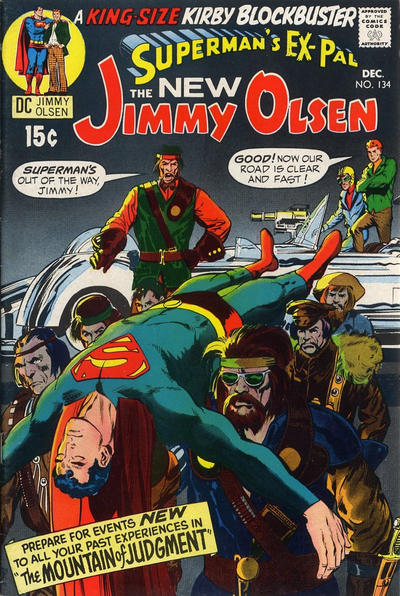 Cover for Superman's Pal, Jimmy Olsen (DC, 1954 series) #134