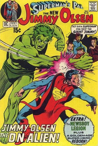 Cover for Superman's Pal, Jimmy Olsen (DC, 1954 series) #136