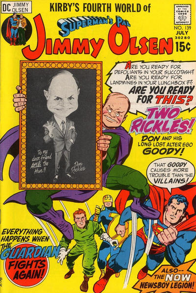 Cover for Superman's Pal, Jimmy Olsen (DC, 1954 series) #139 [5p]