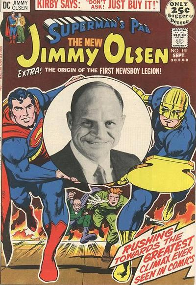 Cover for Superman's Pal, Jimmy Olsen (DC, 1954 series) #141