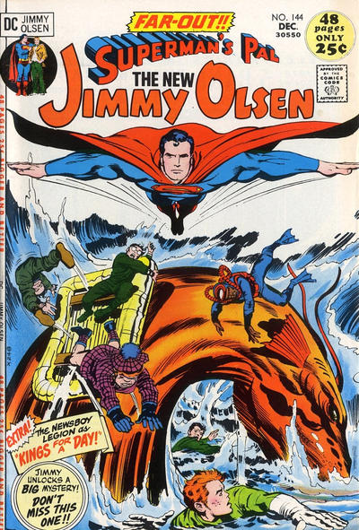 Cover for Superman's Pal, Jimmy Olsen (DC, 1954 series) #144