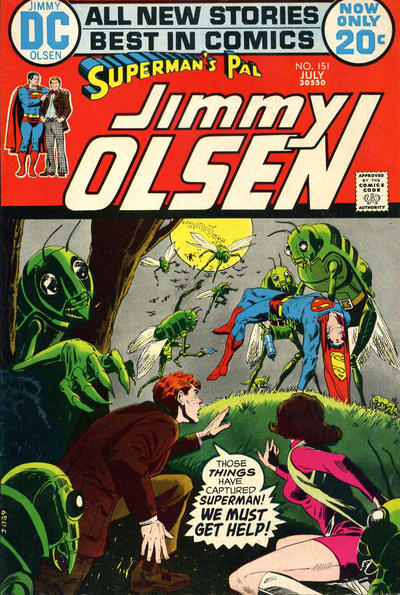 Cover for Superman's Pal, Jimmy Olsen (DC, 1954 series) #151