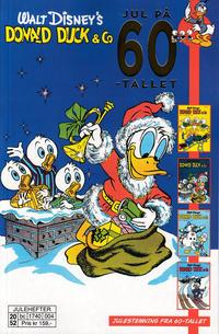 Cover Thumbnail for Donald Duck & Co jul på 60-tallet (Hjemmet / Egmont, 2020 series)