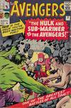 Cover for The Avengers (Marvel, 1963 series) #3 [British]