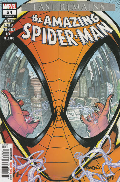 Cover for Amazing Spider-Man (Marvel, 2018 series) #54 (855)