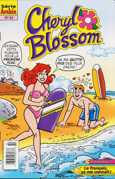 Cover for Cheryl Blossom (Editions Héritage, 1996 series) #42