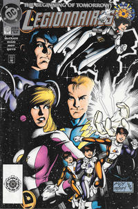 Cover Thumbnail for Legionnaires (DC, 1993 series) #0 [Zero Hour Logo]