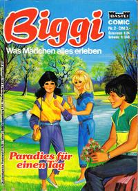 Cover Thumbnail for Biggi (Bastei Verlag, 1983 series) #2